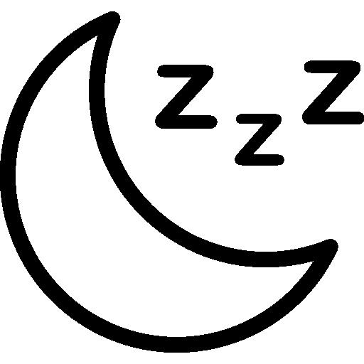 lune  Icône gratuit