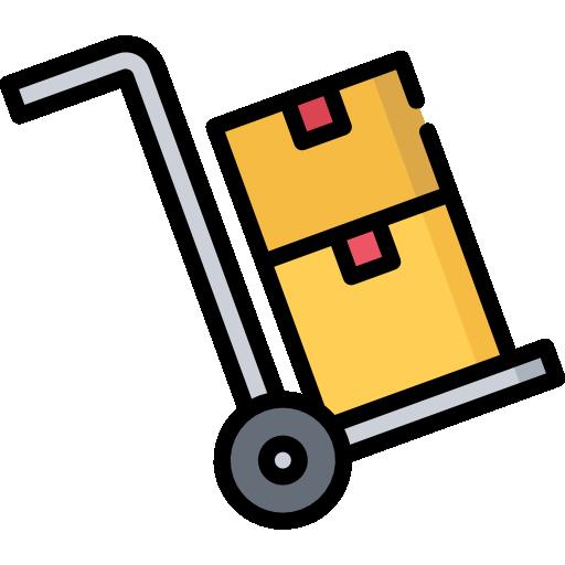 Boxes  free icon