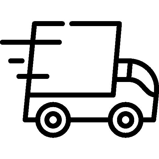 Грузовик доставки  бесплатно иконка