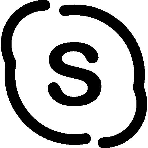 Skype Logo  free icon
