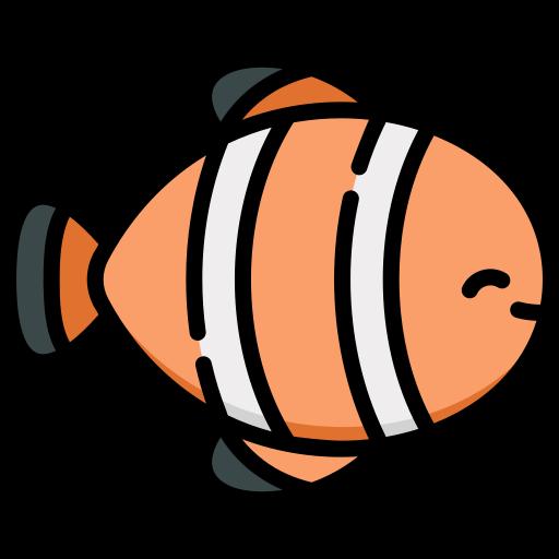Clown fish  free icon
