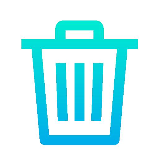 Delete  free icon
