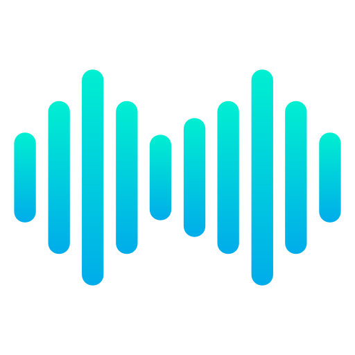 ondas sonoras  icono gratis