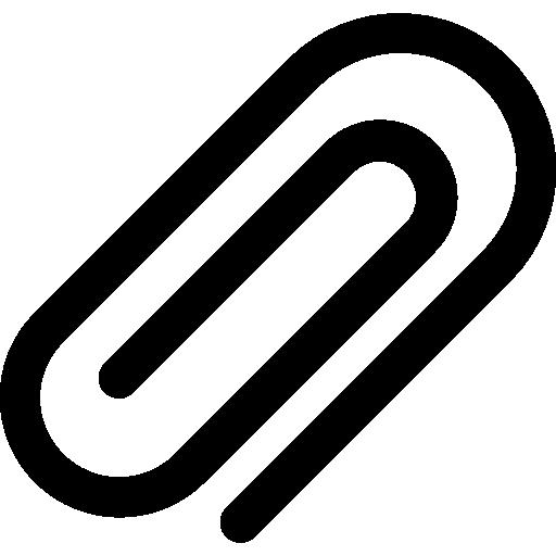 clip de papel  icono gratis