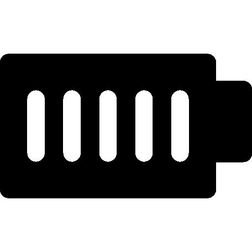 Батарея полная  бесплатно иконка