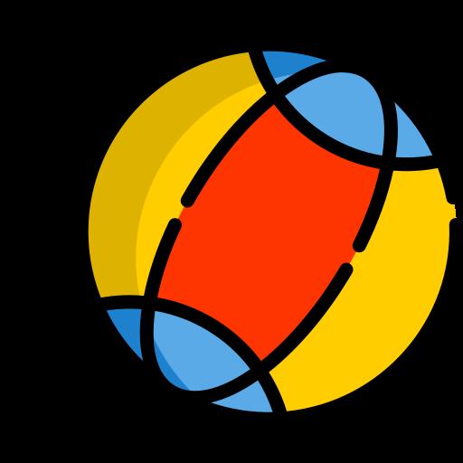 ballon de plage  Icône gratuit