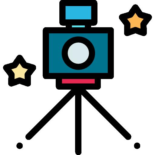 câmera fotografica  grátis ícone