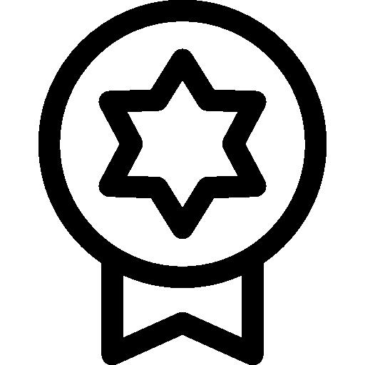 insignia  icono gratis