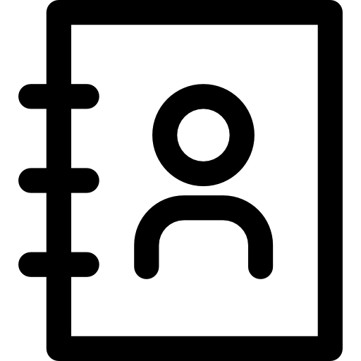 Contacts  free icon