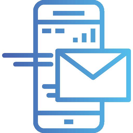 courrier  Icône gratuit