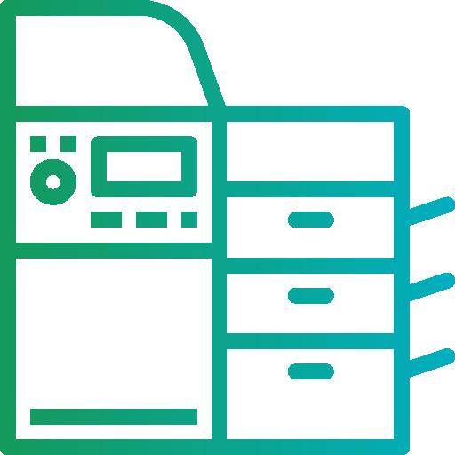 Photocopier  free icon