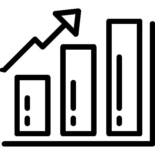 barre graphique  Icône gratuit