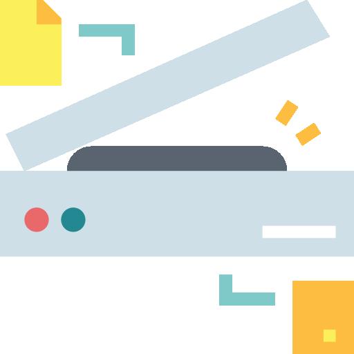 escáner  icono gratis