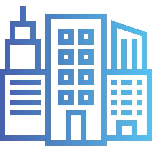 Здание  бесплатно иконка
