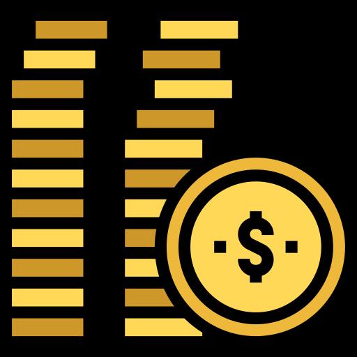 Монета  бесплатно иконка