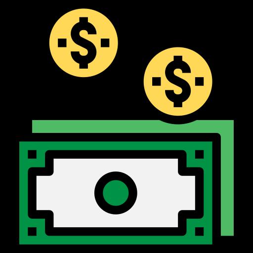 Деньги  бесплатно иконка