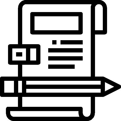 derechos de autor  icono gratis