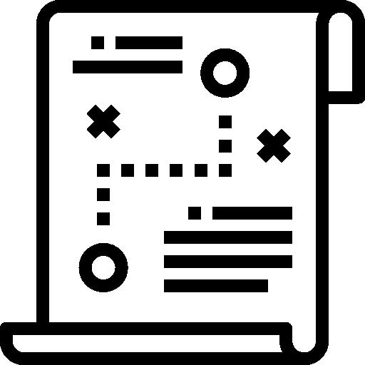 estrategia  icono gratis