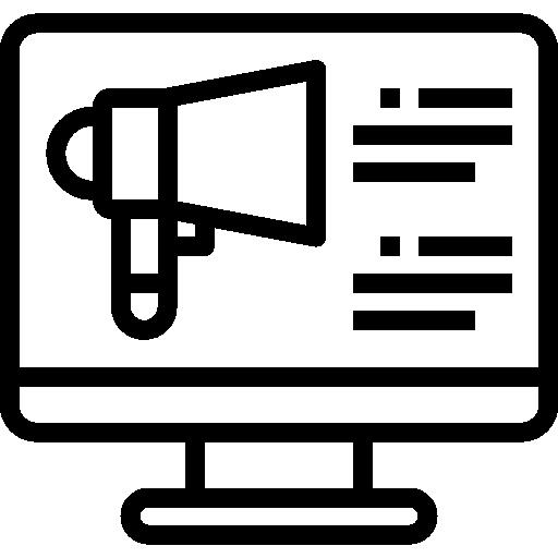 márketing  icono gratis