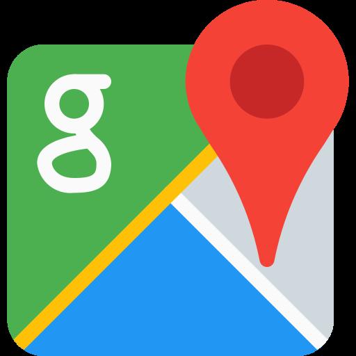 Google maps  free icon