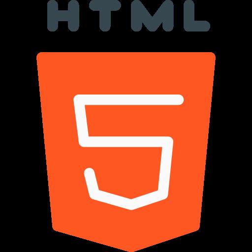 Html 5  free icon