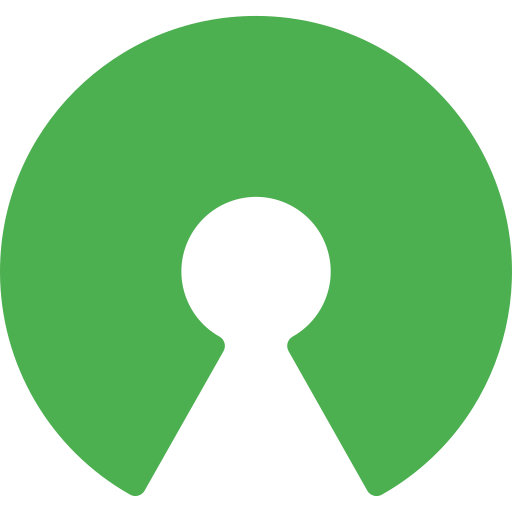 Open source  free icon