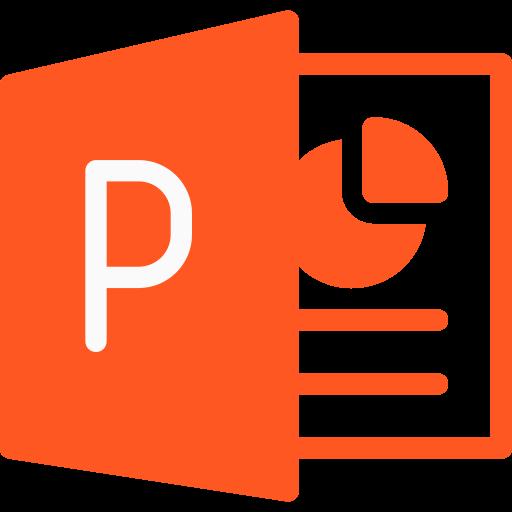 powerpoint  icono gratis