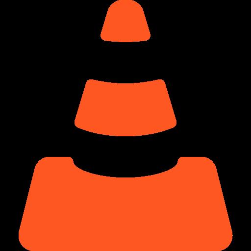 Vlc player  free icon