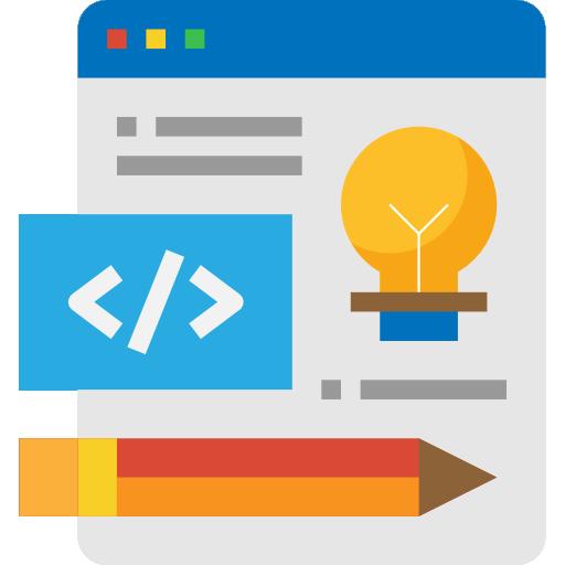 diseño web  icono gratis