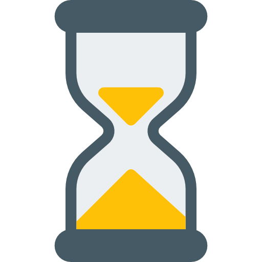 Sand clock  free icon