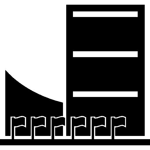 UNO Building  free icon
