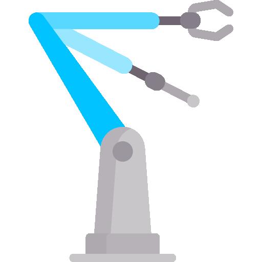 로봇 팔  무료 아이콘