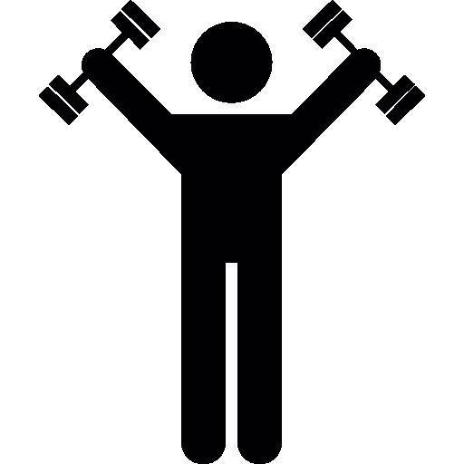 Dumbbells Exercise  free icon