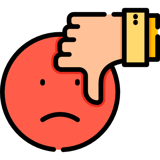 Bad review  free icon