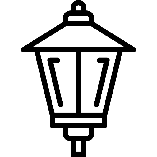 Lamp post  free icon
