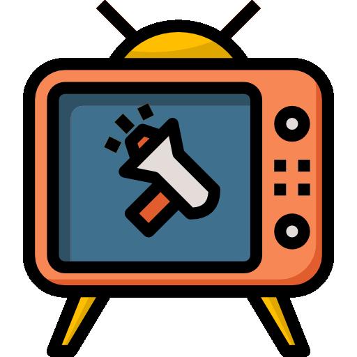 텔레비전  무료 아이콘
