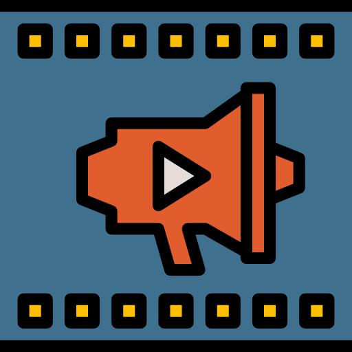 비디오  무료 아이콘