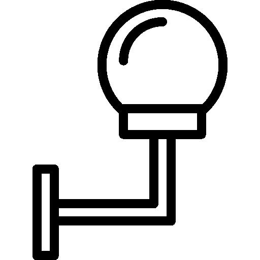 réverbère  Icône gratuit