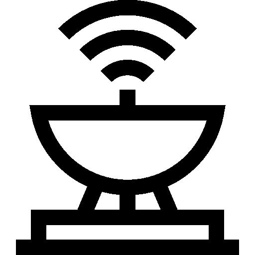 antenne satellite  Icône gratuit