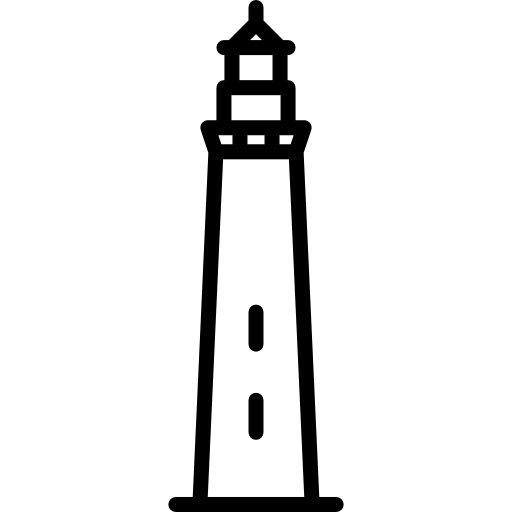 비둘기 포인트 등대 미국 미국  무료 아이콘