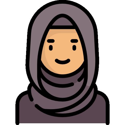 Arab woman  free icon