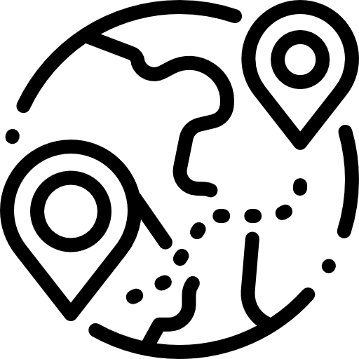 globo terráqueo  icono gratis