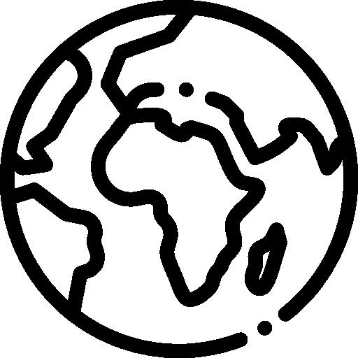 planeta terra  grátis ícone