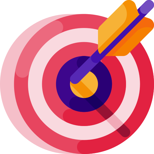 objetivo  icono gratis