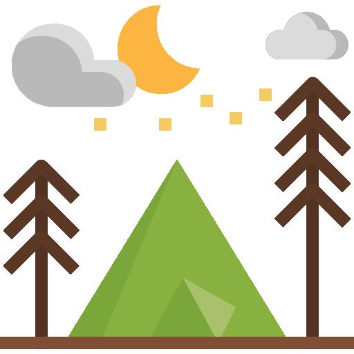 tente de camping  Icône gratuit