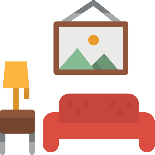 Livingroom  free icon