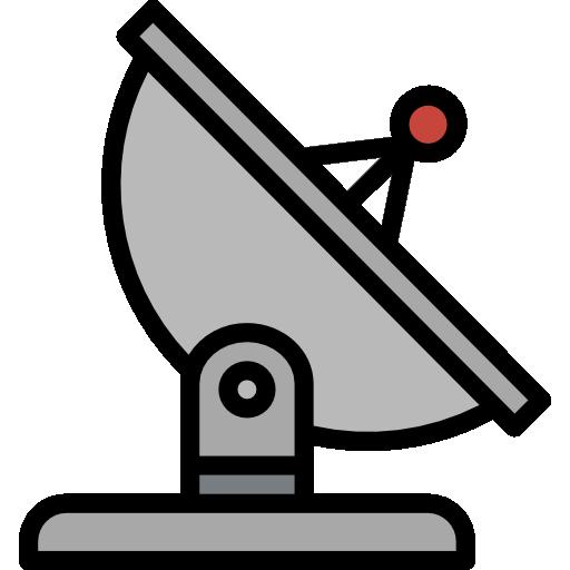 antena parabólica  grátis ícone