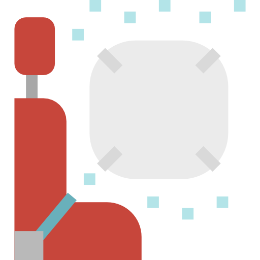 Airbag  free icon