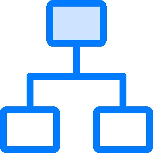 계층 구조  무료 아이콘