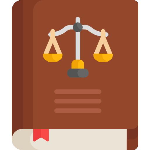 libro de leyes  icono gratis